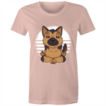 Load image into Gallery viewer, German Shepherd Yoga (Womens XS - 2XL)