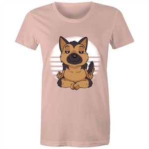 German Shepherd Yoga (Womens XS - 2XL)