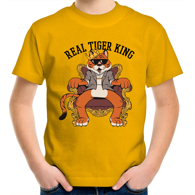 The Real Tiger King (Childrens 2 - 14)