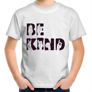 Be Kind Sign Language (Childrens 2 - 14)
