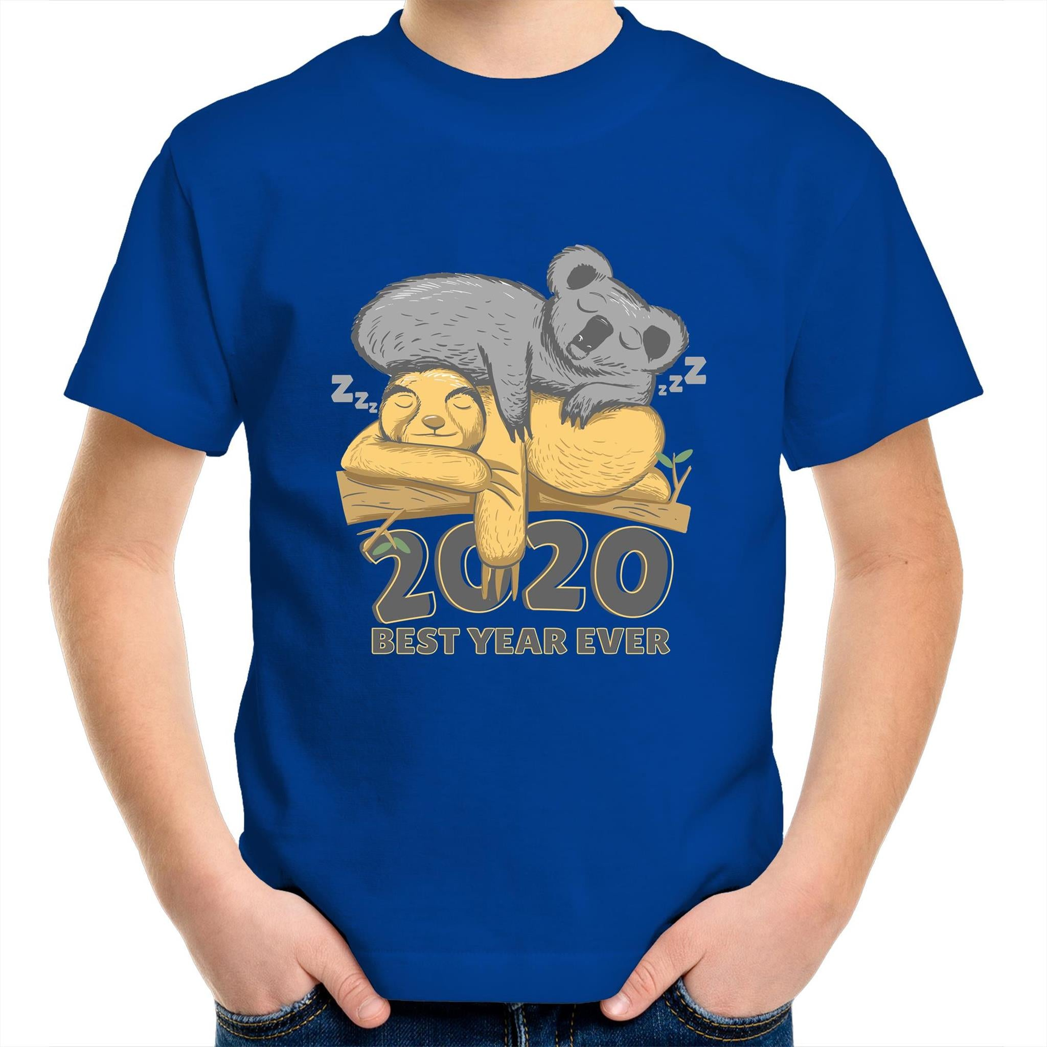 Best year ever with Koala and Sloth (Childrens 2 - 14)