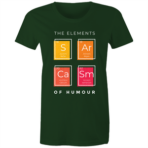 Sarcastic elements (Womens XS - 2XL)