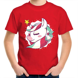 Cute Christmas unicorn (Childrens 2 - 14)