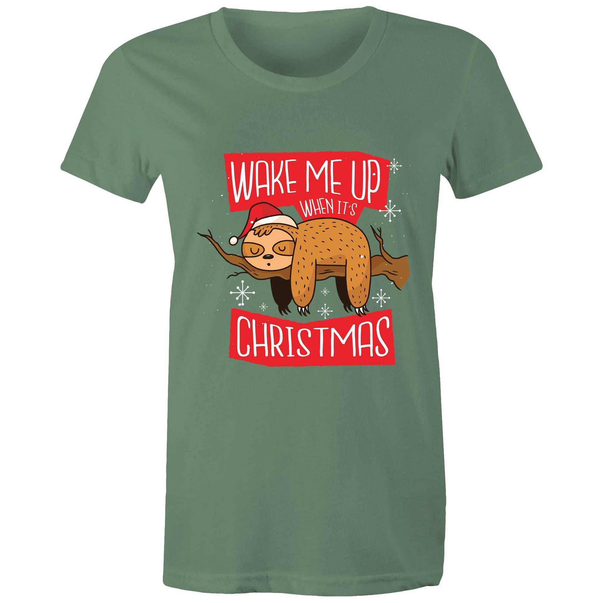 Wake me up when it's Christmas (Womens XS - 2XL)