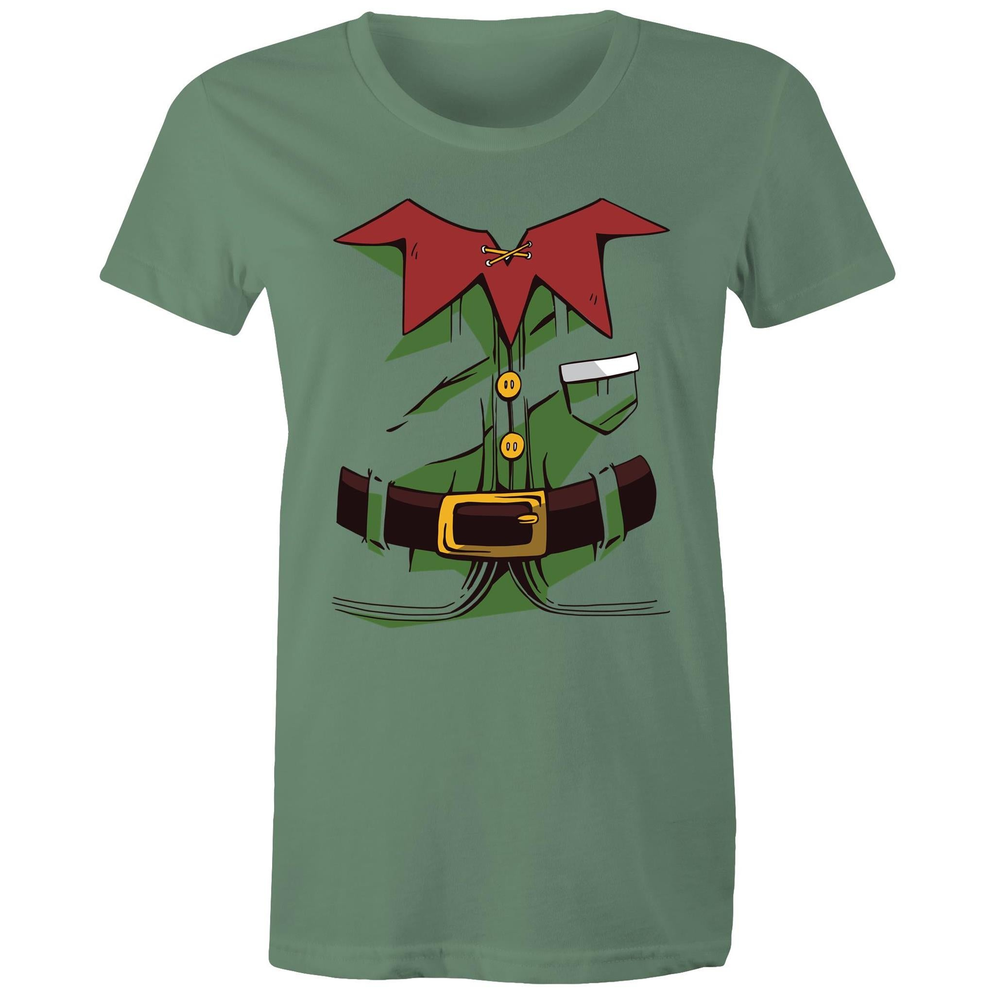 Christmas Elf Costume (Womens XS - 2XL)