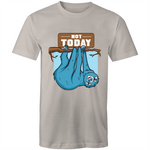 Load image into Gallery viewer, Sloth says not today (Mens S - 5XL)