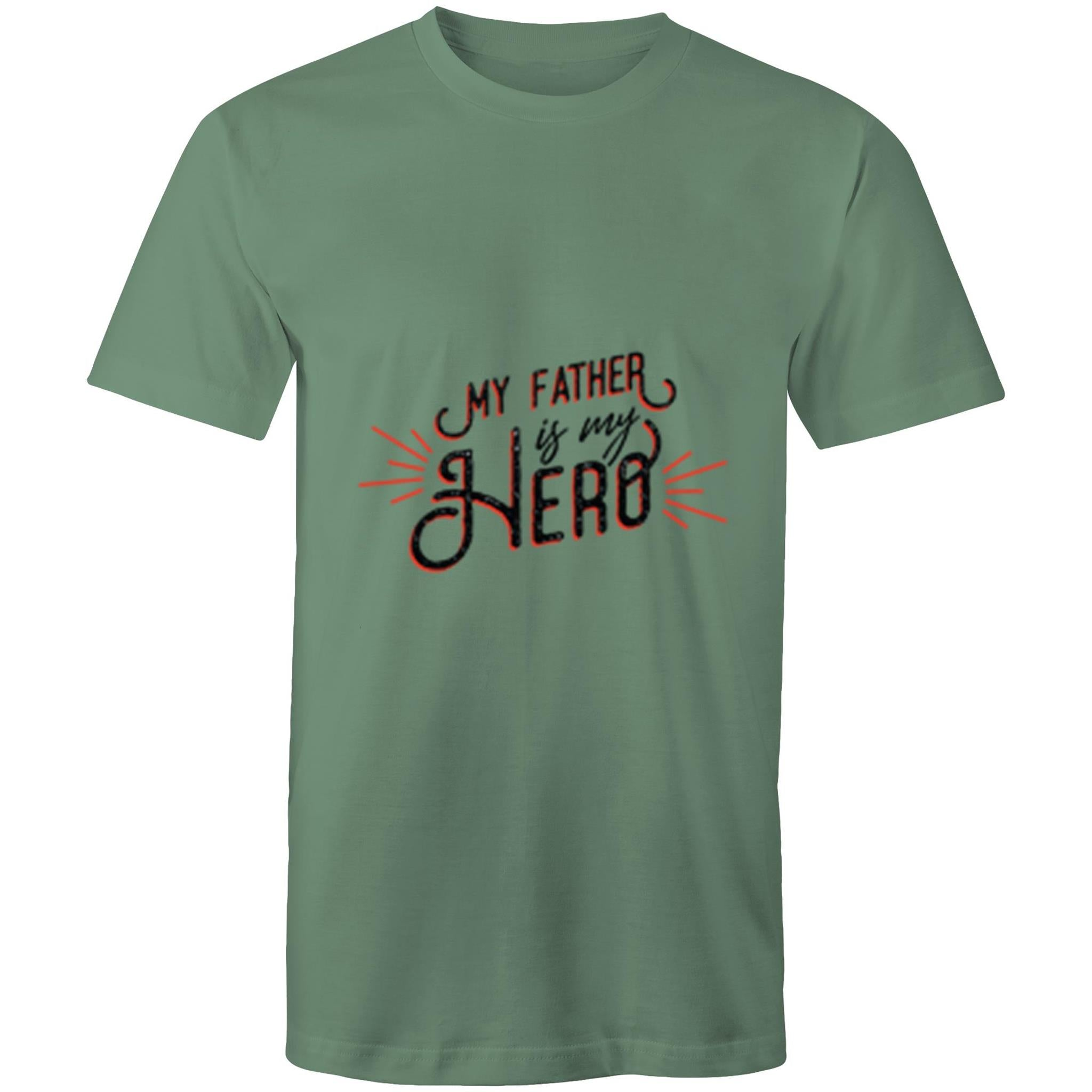 My father is my hero (Mens S - 5XL)