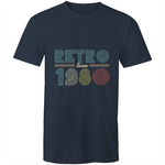 Load image into Gallery viewer, Retro since 1980 birthday (Mens S - 5XL)