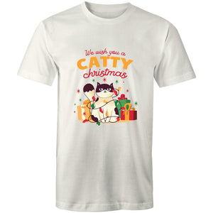 Catty Christmas (Mens XS - 5XL)