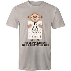 Monkey closer to joining over 50s club (Mens S - 5XL)