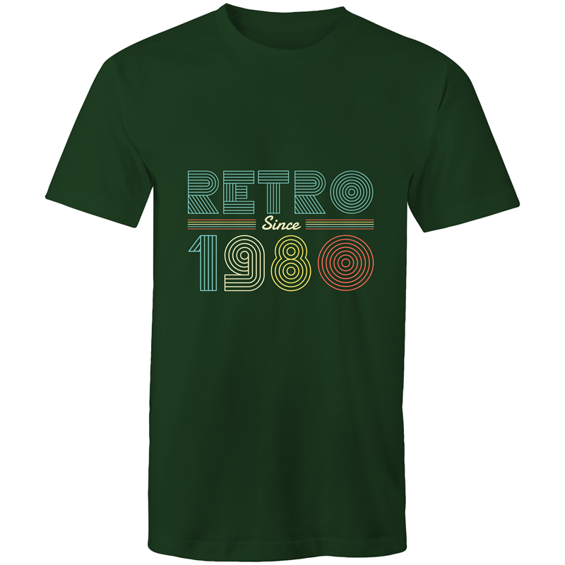 Retro since 1980 birthday (Mens S - 5XL)
