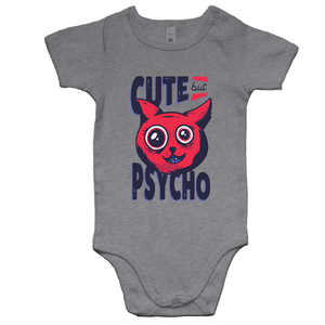 Cute but psycho (Baby Onesie Romper)