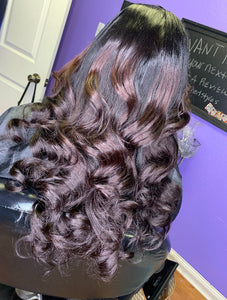 Sewin with lace closure