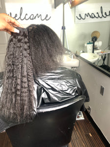 Braidless sew
