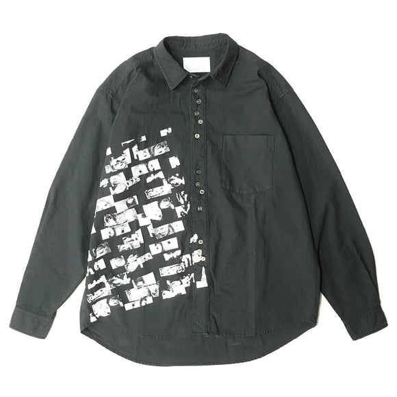 EyeZ Print Long-Sleeve Woven Shirt