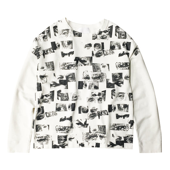 EyeZ All Over Print Crew Neck Sweatshirt