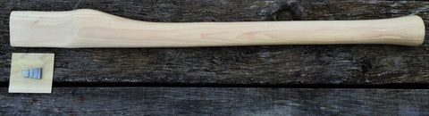 "26"" Miners / Straight / Single Bit Axe Handle American Hickory Item # 1226"