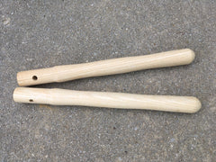 "14"" Beaver Tooth Climax Style Cross Cut Saw Handles Pair"