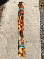 Hickory Hiking / Walking sticks 42""