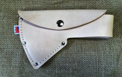 Hudson Bay Axe Leather Sheath Fits 2~ 2.25 lb. Axes. Top Grain USA Made!