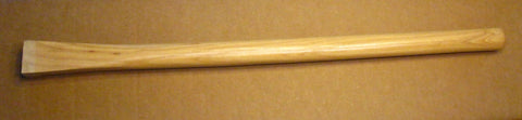 "26"" Straight Shaft Ground Breaker Landscape Adze eye Hickory Handle"