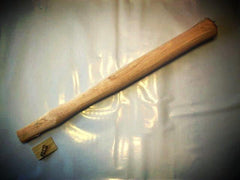 "Hammer Handle - 16"" Blacksmith / Ball Pein Hammer Handle Flat Eye Style Hickory Item # 1640M #3 Eye"