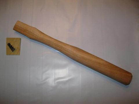 "14"" Lathing / Half / Shingle Hatchet Handle Item # 9314L American Hickory"