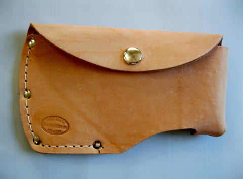 Leather Sheath Fits Large Hatchet Top Grain USA Made!