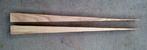 Wood Wheelbarrow Wedges Made in USA