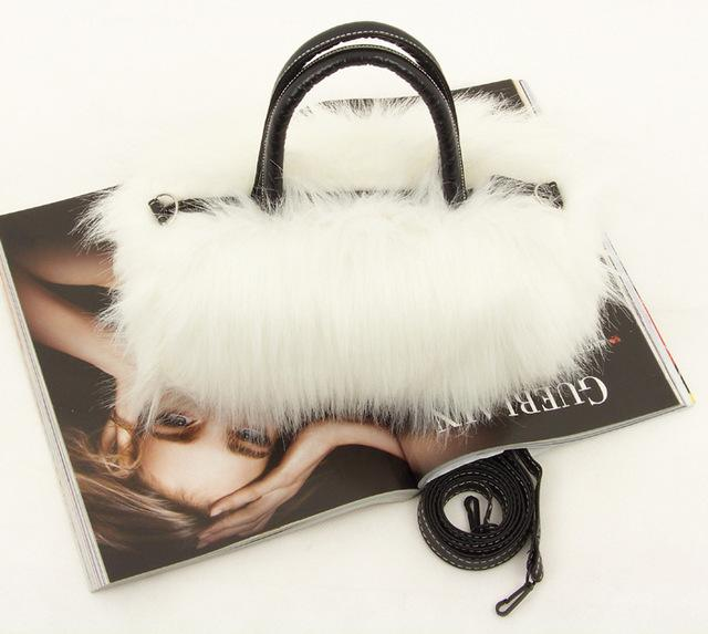 Fashion And Temperament Girls Lady PU Leather