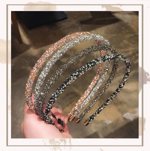 A Love Story Crystal Headband