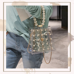 Valentina Clear Shoulder Bag