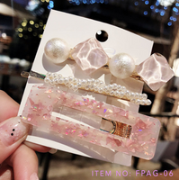 Pretty Queen Hair Clips