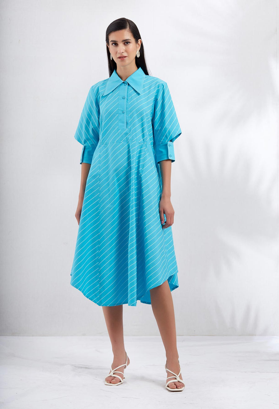 Aslant Dress - 2 Colours