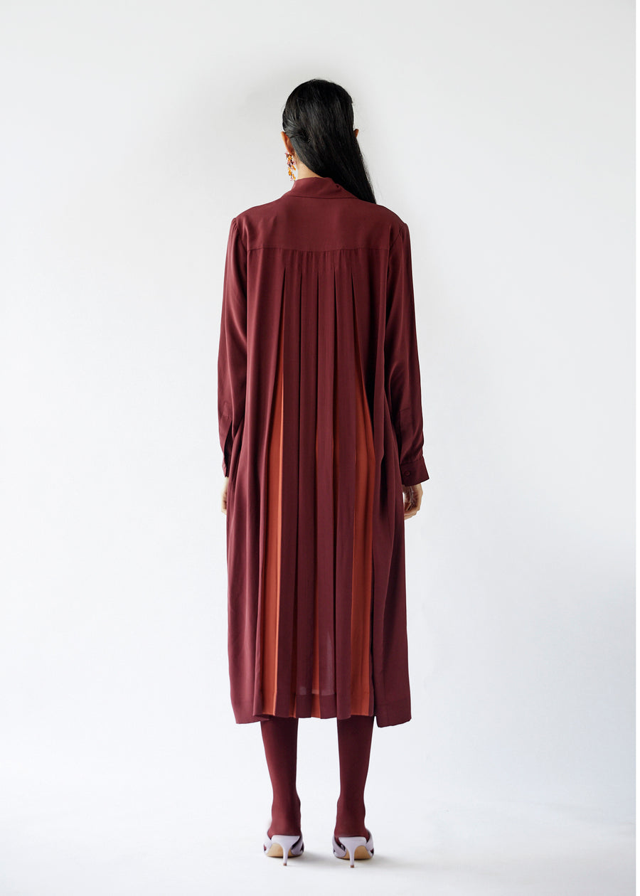 Row Shirt Dress