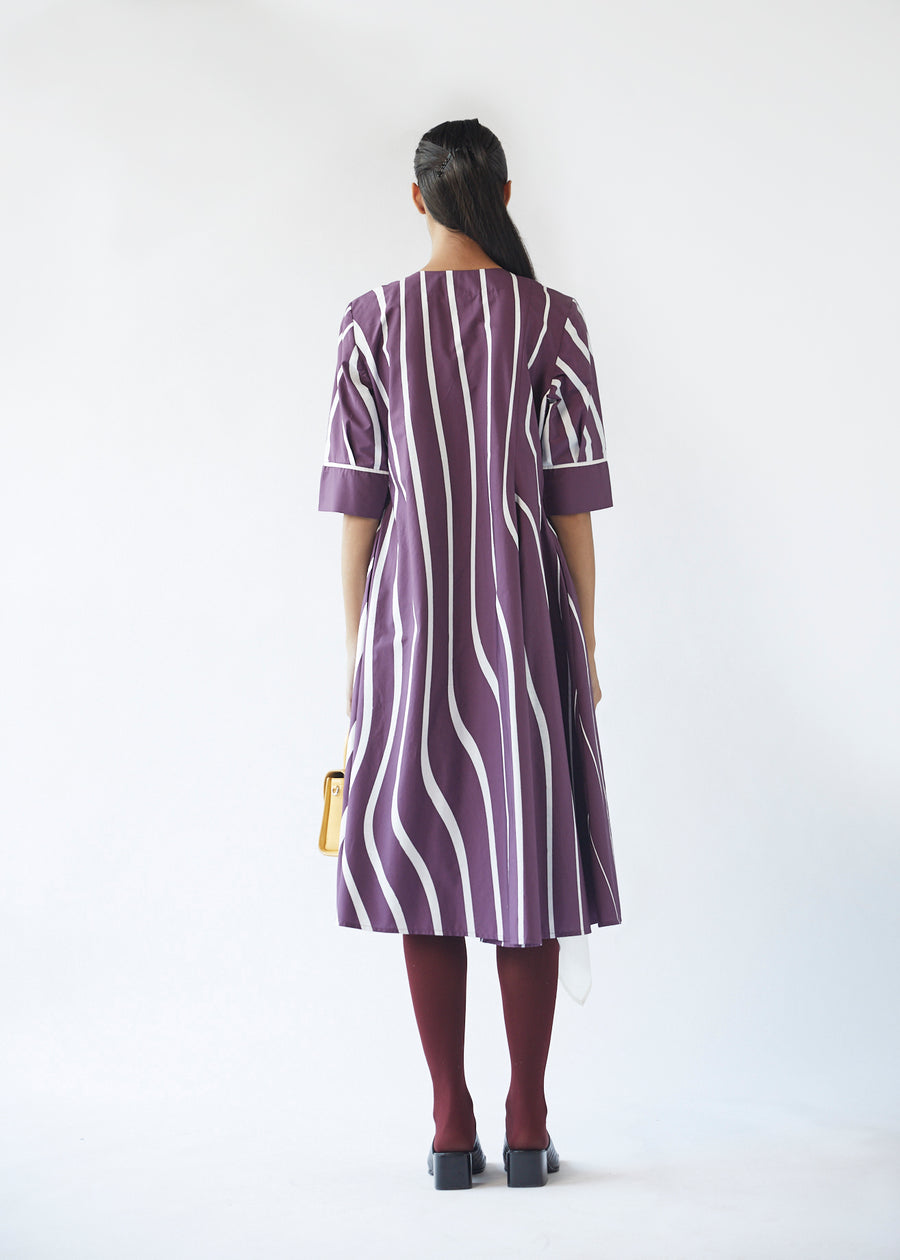 Single Godet Wave Dress