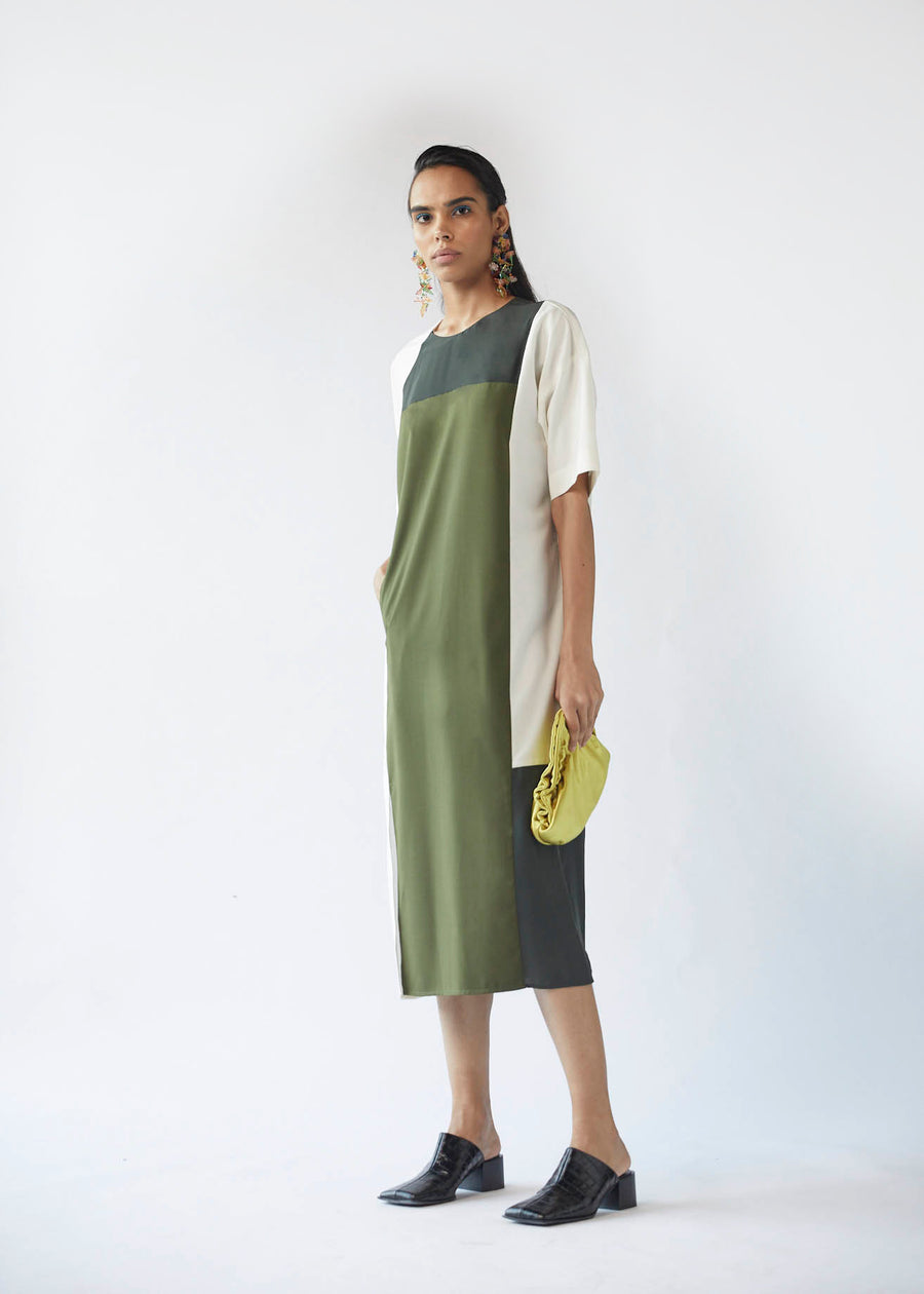 Panelled Straight Tunic