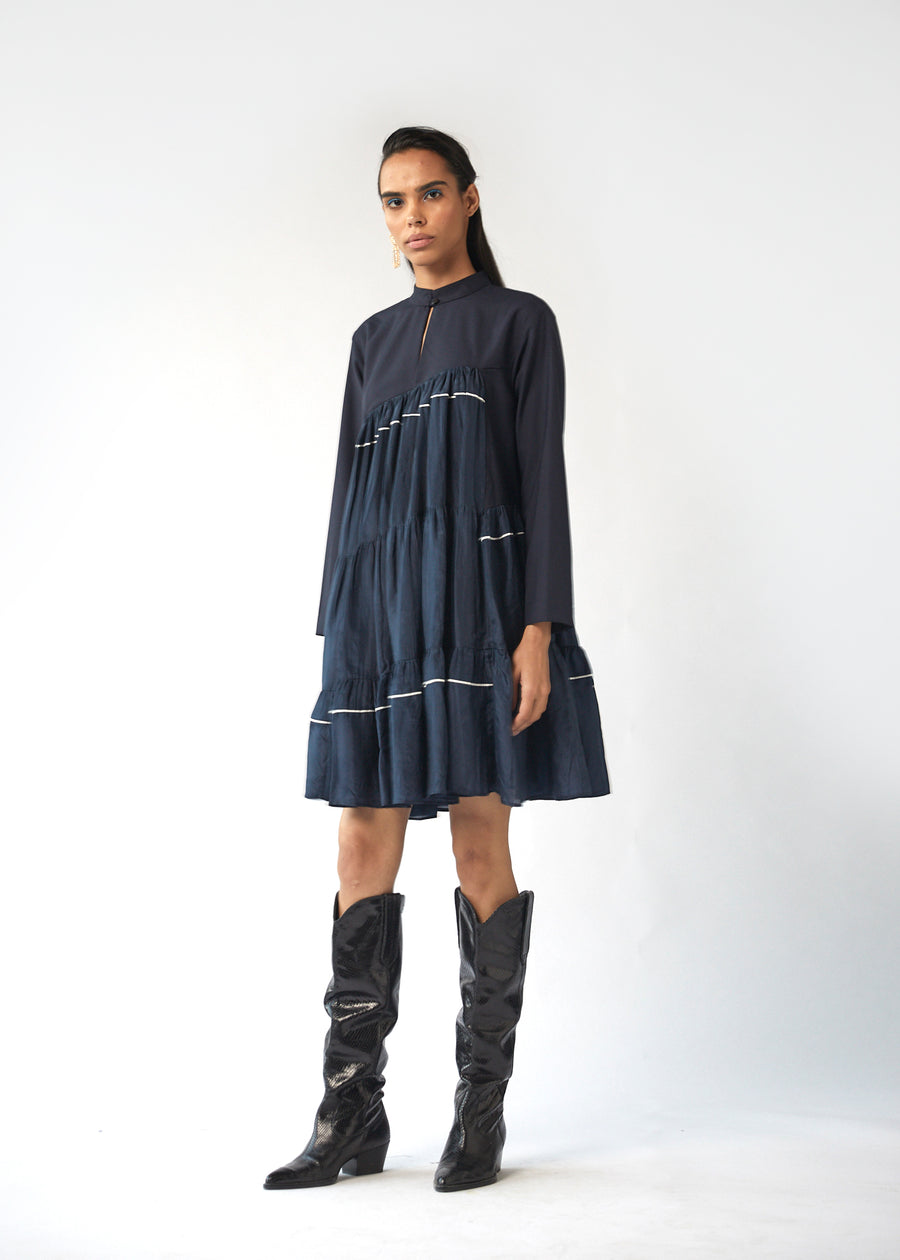 Incline Tier Dress