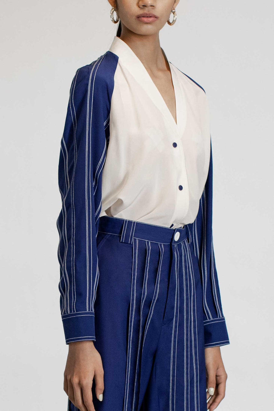Tuck Pleats Shirt