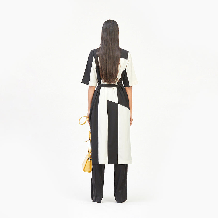 Monochrome Debra Dress