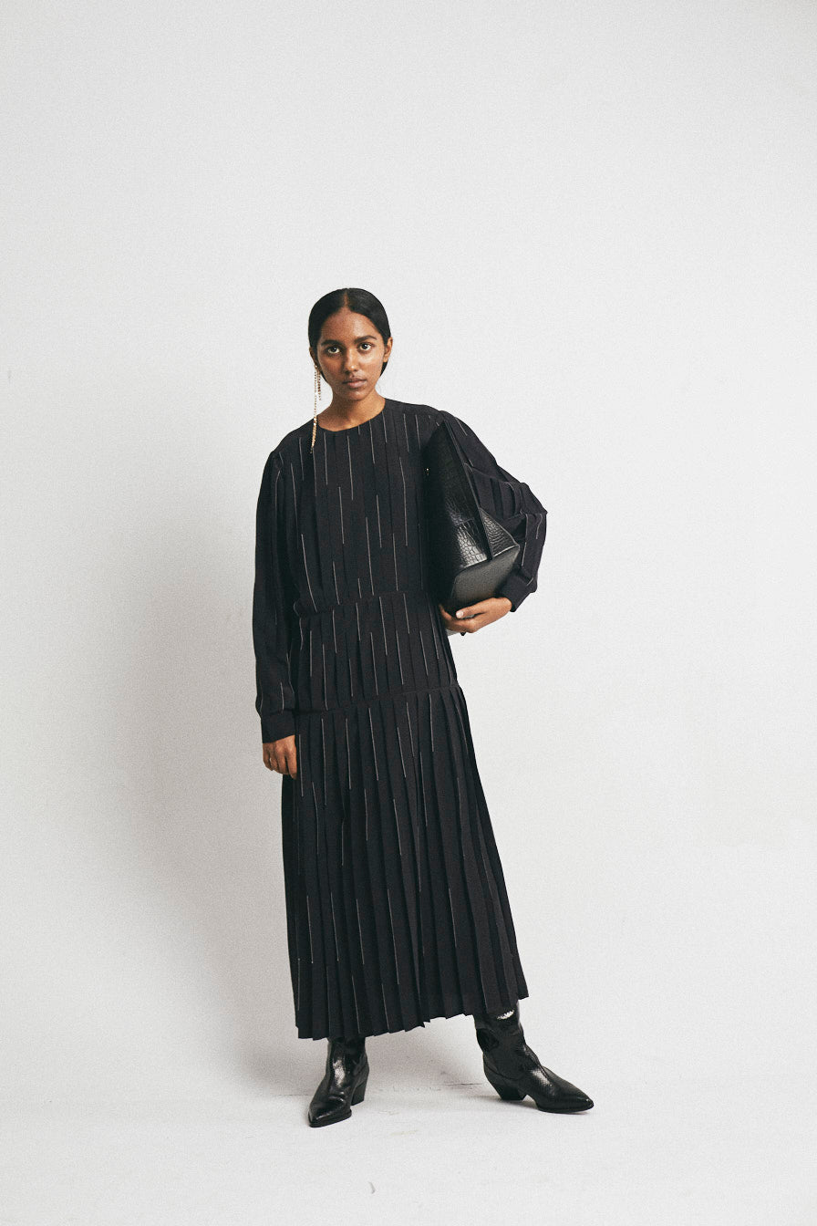 Pleated Rain Dress