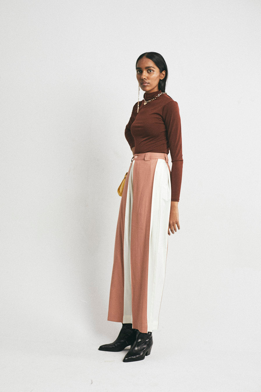 Debra Pleated Pants