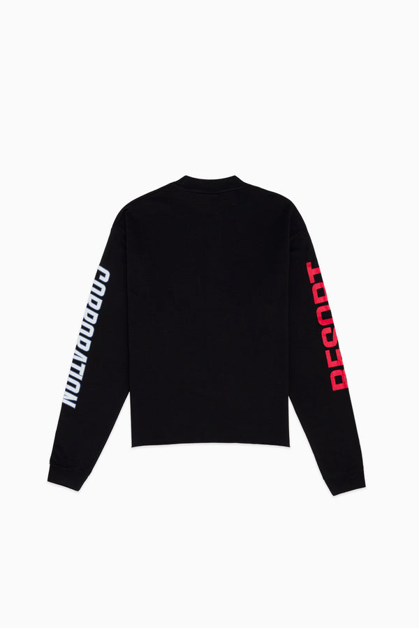 Black Corporation Long Sleeve T-shirt