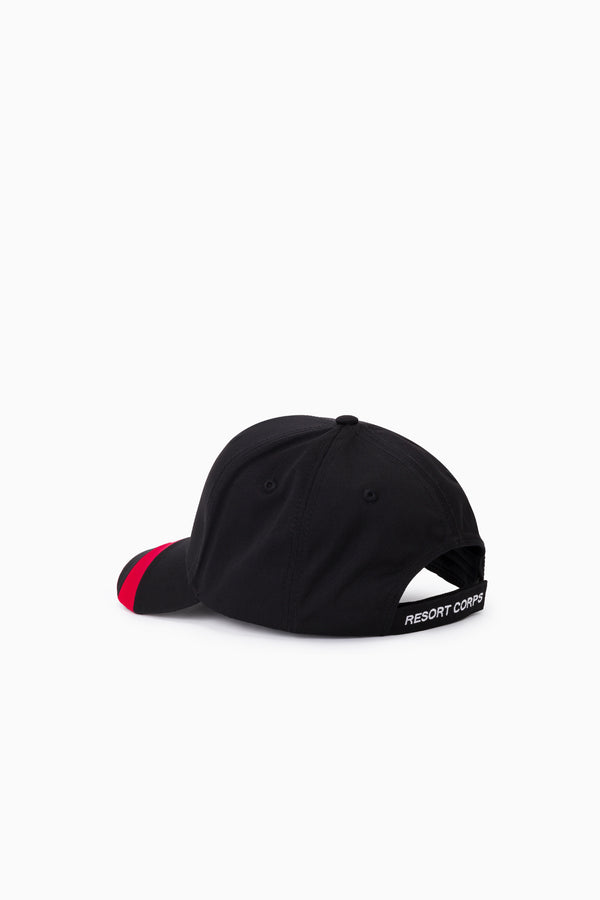 Black & Red Patrol Cap
