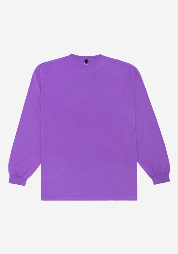 Purple MK-Ultra Long Sleeve T-shirt