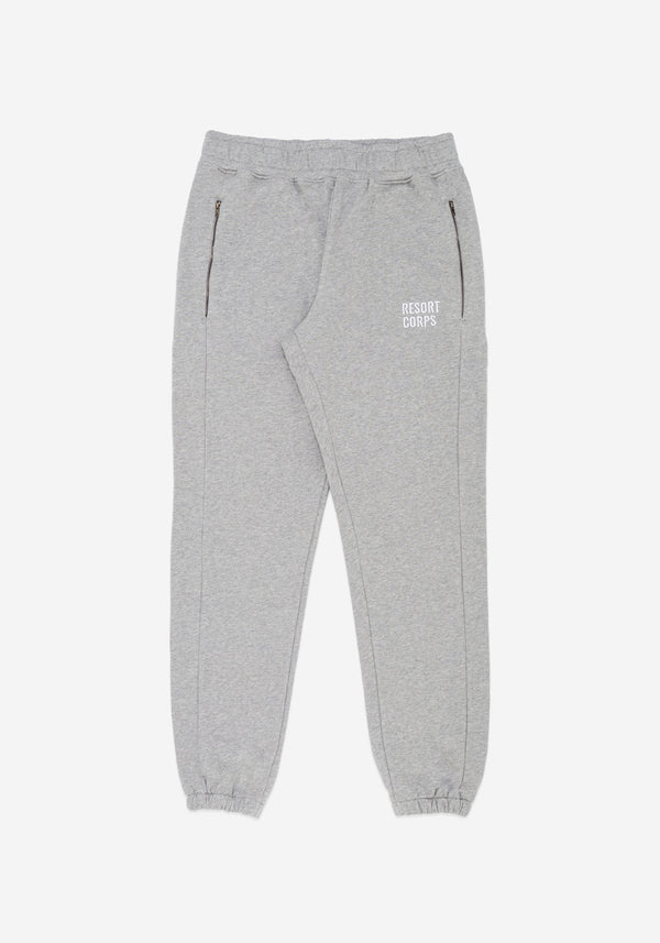 Heather Grey Track Pants
