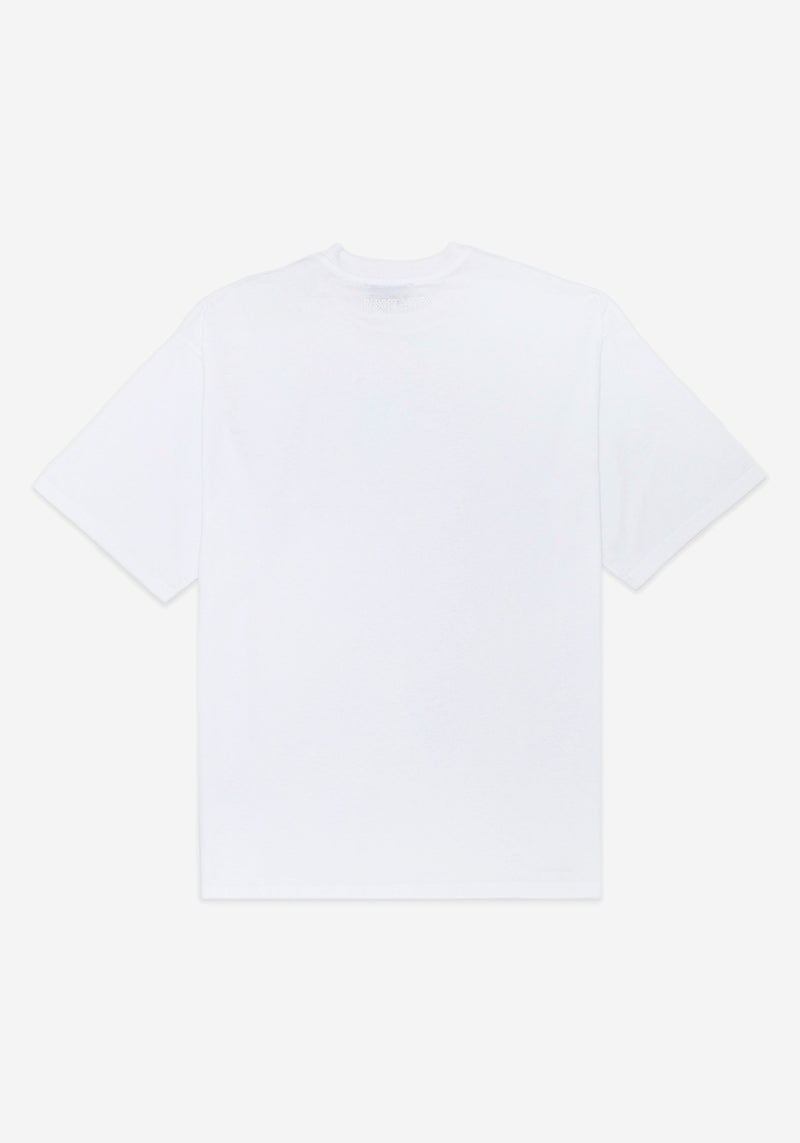 White Empathy Fit Large T-shirt