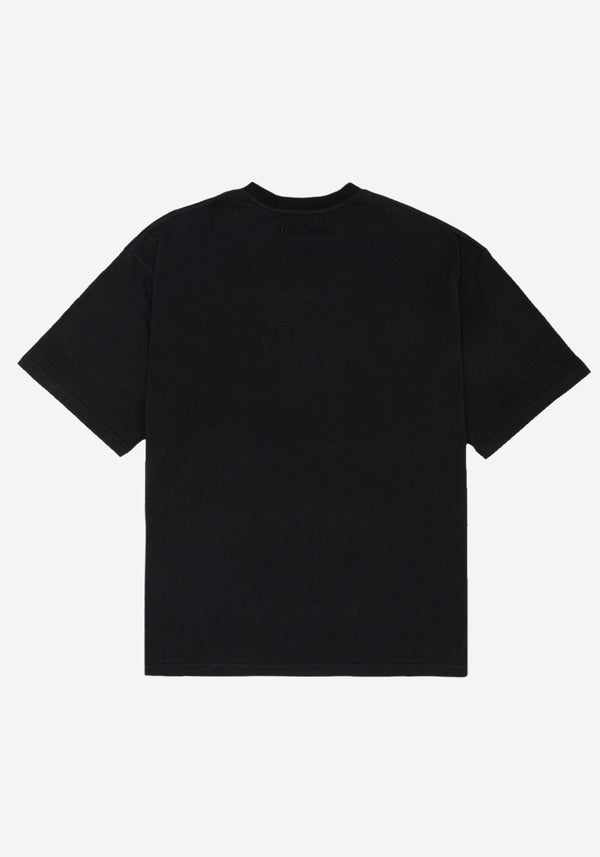 Black Empathy Fit Large T-shirt