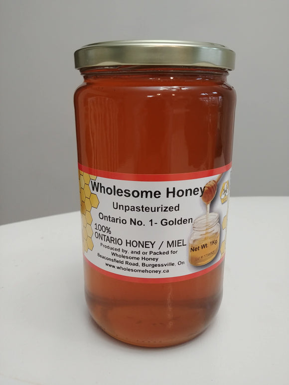 HONEY - 1 kg glass jar