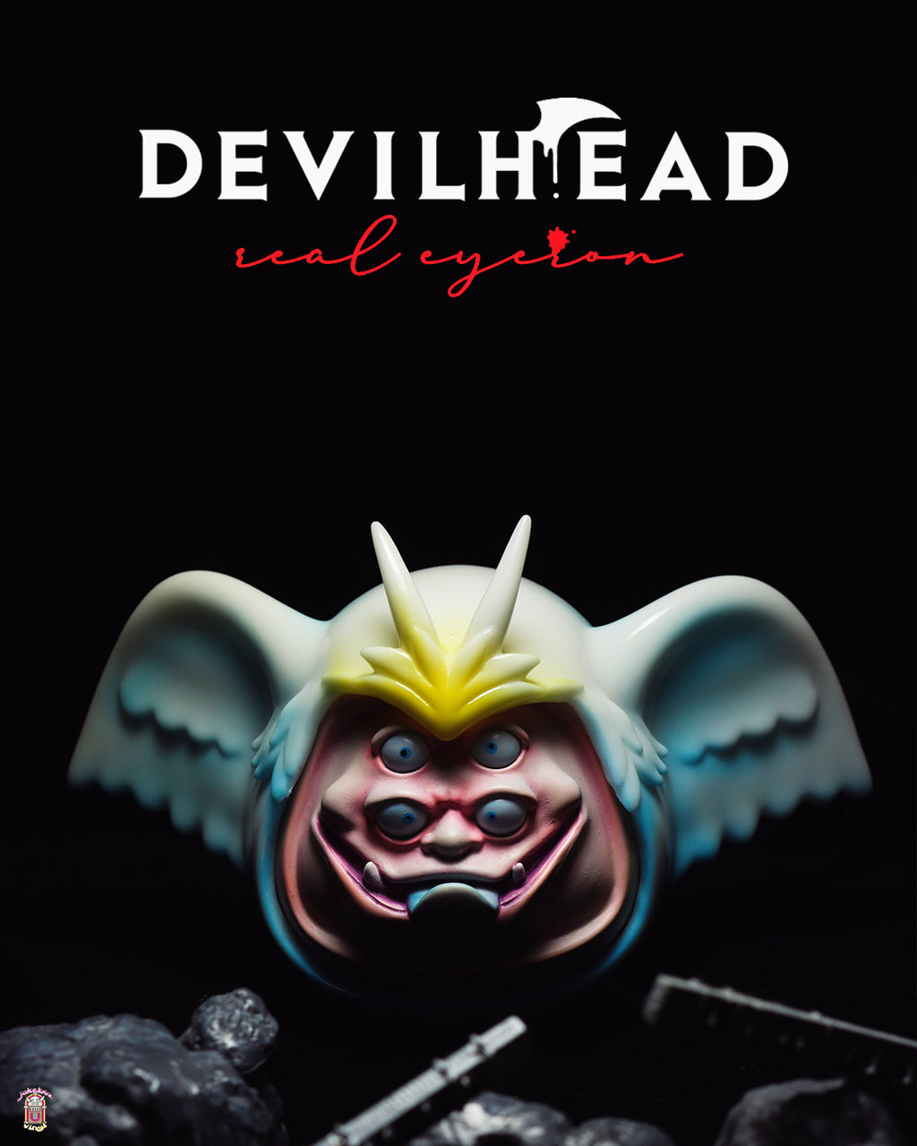 Jukebox Vinyl brings you MonsterMind Go Nagai Devilman series, Devilhead (Sirene) designer toy and art toy